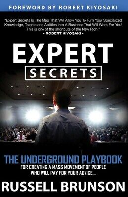Expert Secrets by Russell Brunson PDF book free fast shipping