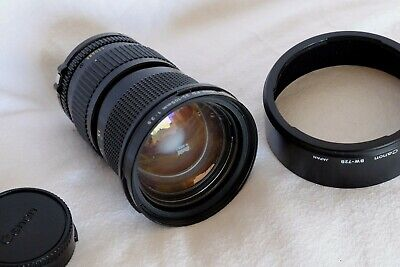 CANON FD FIT F3.5 35-105mm MACRO ZOOM LENS (FILM OR DIGITAL) MINTY CONDITION