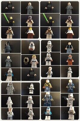 RARE Star Wars Lego Minifigures Darth Vader, Luke Skywalker Choose and Select