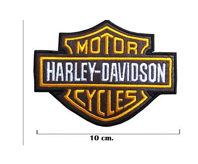 Harley Davidson Bike Motocycles Collectibles iron on patches 10 x 8 cm