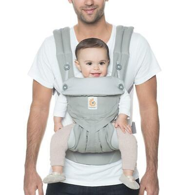 Ergobaby 360 All Carry Positions Ergonomic Baby Carrier - Pearl Grey