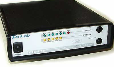 TENLAB TR-21 PAL NTSC SECAM MultiSystem Digital Video Converter TBC COLOR BAR EX