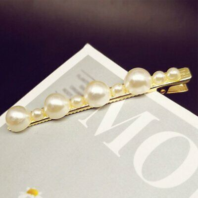 Charm Different Pearls Hair Clip Barrette Hairpin Bobby Pin Women Accessories