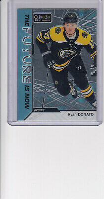 18/19 OPC Platinum Boston Bruins Ryan Donato The Future is Now cd #FN-12