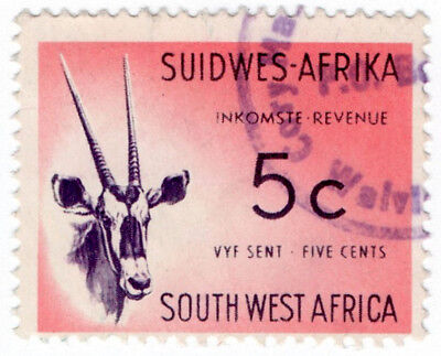 (I.B) South-West Africa Revenue : Duty Stamp 5c