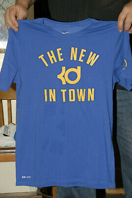 Kevin Durant Lot Of 3 Nike Dri Fit T Shirts Golden State Warriors Era Med Nm+ Nm