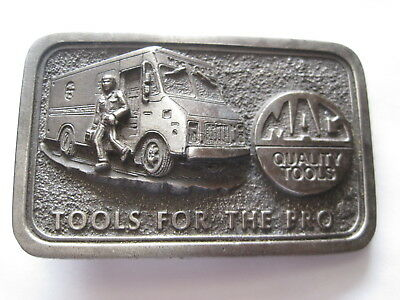 Collectible - MAC Quality Tools Belt Buckle - Limited Edition
