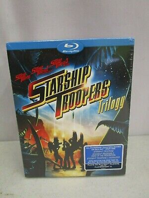 Starship Troopers Trilogy (New/Sealed) (Blu-Ray, 2008) *3 Discs*