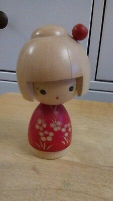 Wooden Chinese figure doll