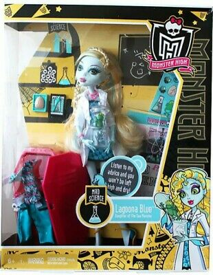 Monster High Classroom Mad Science Lagoona Blue 10.5-Inch Doll [With Locker]