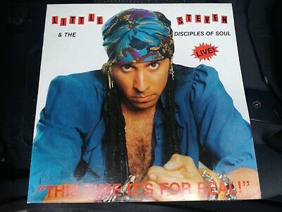 Little Steven & The Disciples Of Soul-This Time It's For Real Live! 1982/84 Lp