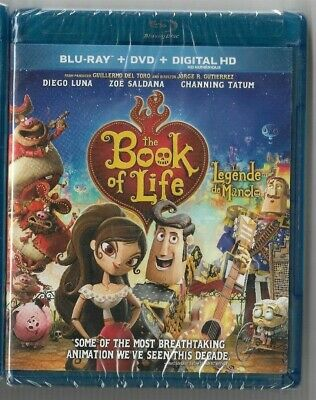 Brand New Sealed Blu-Ray Disc Movie - DVD + HD - Book Of Life  - Also In French