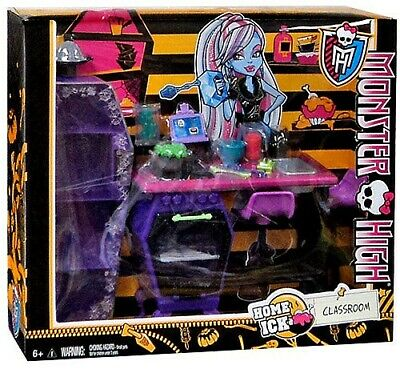 Monster High Home Ick Classroom 10.5-Inch Doll Playset