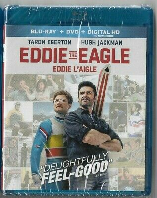 Brand New Sealed Blu-Ray Disc Movie + DVD + HD + EDDIE THE EAGLE Also In French