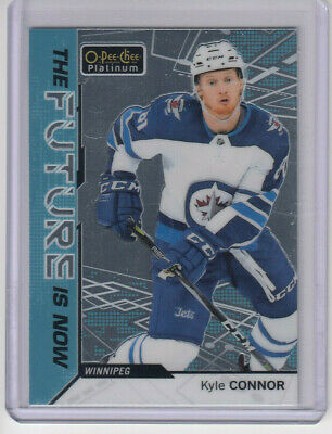 18/19 OPC Platinum Winnipeg Jets Kyle Connor The Future is Now card #FN-8