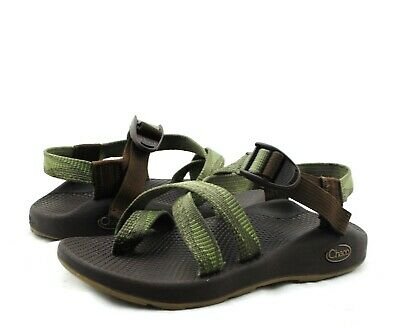 ebf526d5bd3961 CHACO Z 2 Yampa Green Patterned Athletic Outdoor Sport Hiking Sandals Sz 6