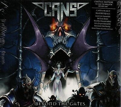 CANS - Beyond The Gates - CD Album *NEW & SEALED* *Limited Edition* *Digipak*