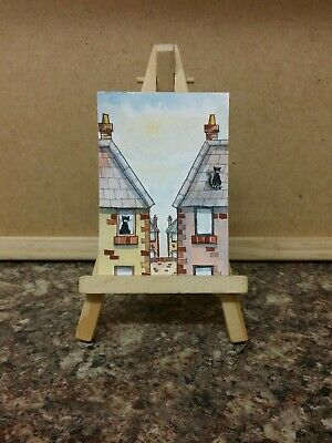 Original Watercolour Painting ACEO by Colin Coles