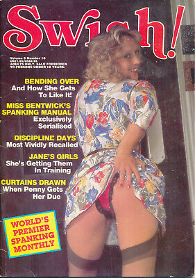 Vintage Men's Magazine - Swish Vol 5 No.10 (Spanking, CP, fetish) good condition