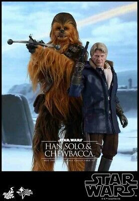 Star Wars Movie Masterpiece Han Solo & Chewbacca Collectible Figure Set
