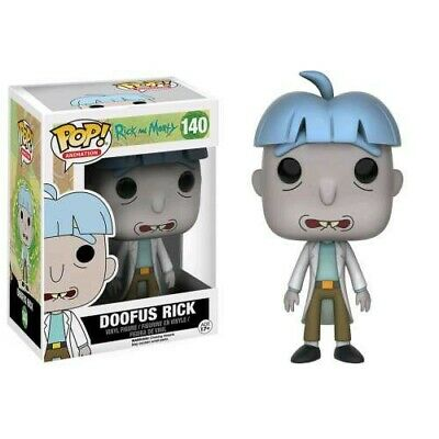 Rick & Morty Funko POP! Animation Doofus Rick Exclusive Vinyl Figure #140