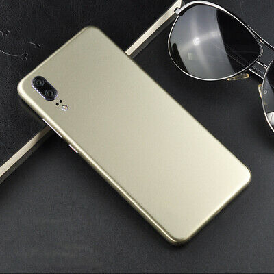 Ultra-thin Rear Case Protector Sticker Package Border Ice Film fit Huawei
