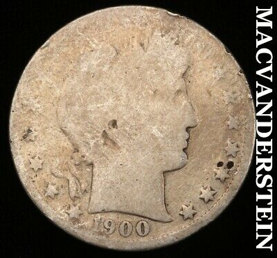 1900 Barber Half Dollar - Scarce!!  Better Date!!  #d616