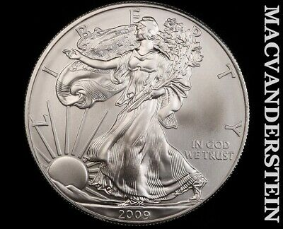 2009 American Silver Eagle 1 Ounce-Ch Gem Brilliant Unc!! No Reserve!! #f3440