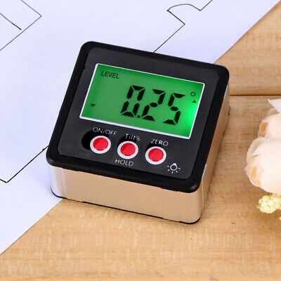 ABS LCD Digital Inclinometer Electronic Protractor Level Angle Gauge Magnet