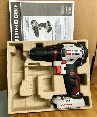 """x1 New Porter Cable Brushless Drill Driver PCC608 20V 1/2"""" Chuck Body ONLY"""
