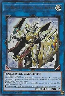 Day-Breaker the Shining Magical Warrior SR08-EN040 Order of the SpellCasters 1st