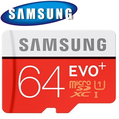 Samsung Memory 64GB EVO+ TF / Micro SD Card Class 10 with Adapter UK Stock