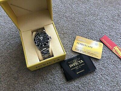 INVICTA MENS AUTOMATIC PRO DIVER WATCH 200m STAINLESS