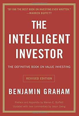 The Intelligent Investor The Definitive Book Paperback by Benjamin Graham NEW