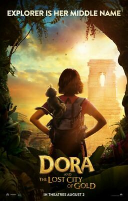 Dora and the Lost City of Gold - original DS movie poster 27x40 D/S Advance