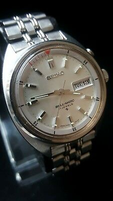 Vintage Seiko BELL-MATIC Gents Watch 1960s 100% Original & Un-Adulterated Boxed