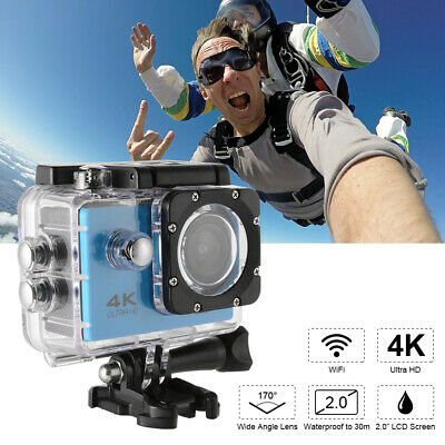 Ultra HD 16MP 4K WIFI Sport Action Camera Remote Control Accessories Kit LF871