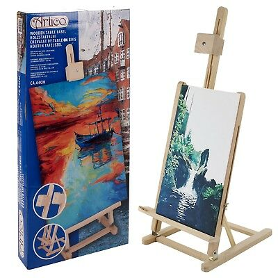 Wooden Table Easel Drawing Board Artist Large Painting Board Wedding Display