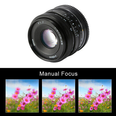 Manual Prime Fixed Lens for Sony E-Mount APS-C Digital Mirrorless Cameras LF843