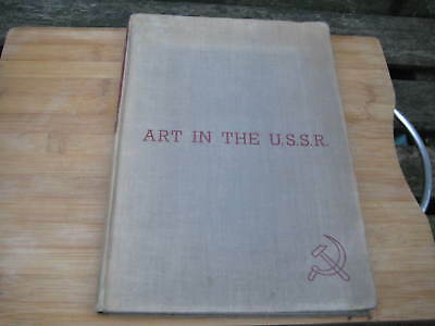 The Studio Magazine Book Art In The Ussr Hardback Special 1935