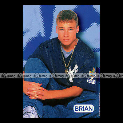 #a017 BACKSTREET BOYS Brian LITTRELL - Photo officielle 1997