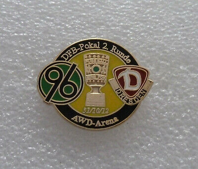 Pin Hannover 96 Dynamo Dresden Pokal 2012/13 2. Runde  Pin Fußball
