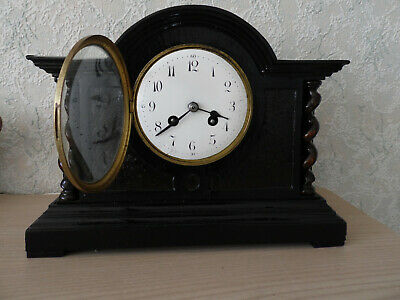 Atique Clock Japy Freres 8 Day 1879