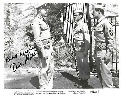 IT CONQUERED THE WORLD - 8 x 10 - DICK MILLER