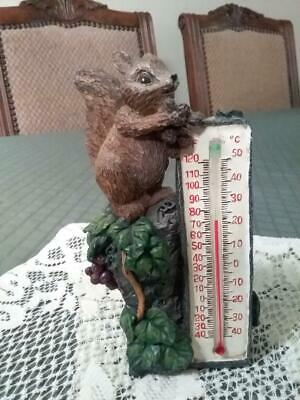 Vintage Squirrel Thermometer