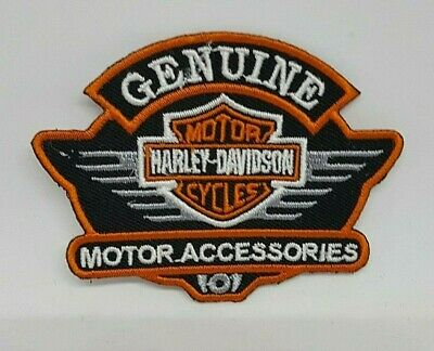 Harley Davidson Genuine Accessories Embroidered applique iron on Patch #34