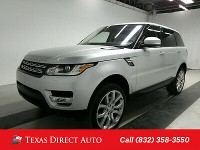 2016 Land Rover Range Rover Sport V6 Diesel HSE Texas Direct Auto 2016 V6 Diesel HSE Used Turbo 3L V6 24V Automatic 4WD SUV