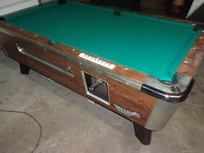 Valley 6 1/2 ft. coin op pool table  #PT229