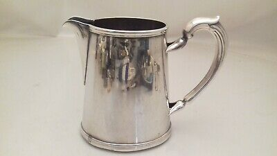 Antique Christofle Silver Plated Metal Blanc Large Jug