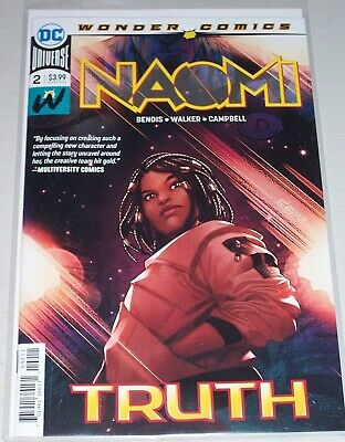 Naomi #2! (2019) 1st Print! Never Read! Cover A! NM!